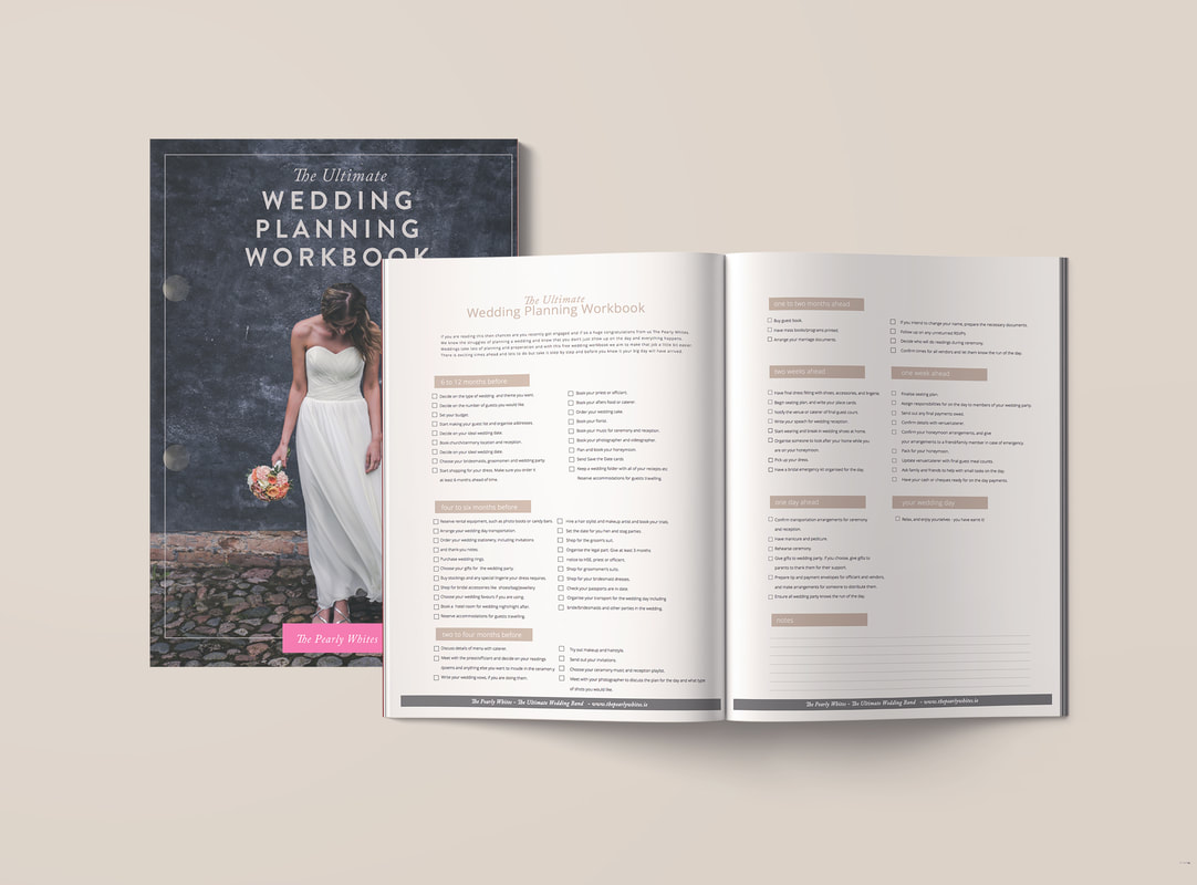 The Pearly Whites wedding Planning Workbook